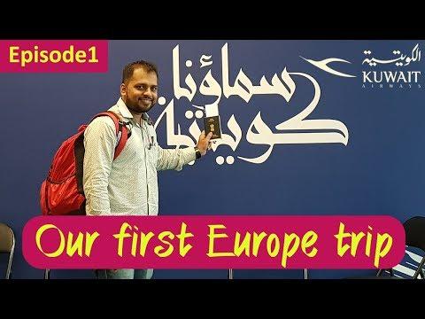 Our First Europe Trip | Kuwait | ITALY | Episode 1| We2Tourist