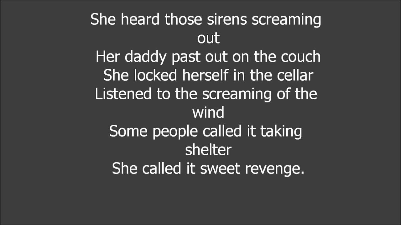 Blown Away Carrie Underwood Lyrics