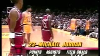 NBA Final 1991 Chicago Bulls vs LA Lakers 3матч серии