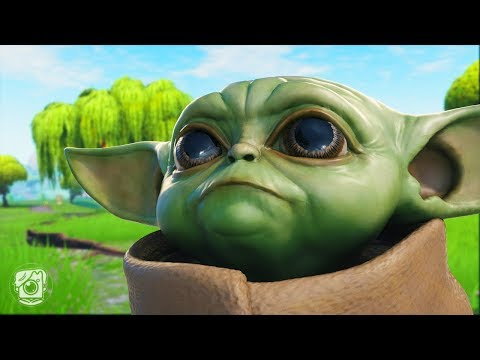 BABY YODA ORIGIN STORY! *STAR WARS* (A Fortnite Short Film)