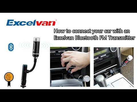 [Excelvan]How to connect your car with an Excelvan Bluetooth FM Transmitter