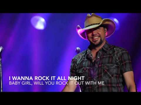 Jason Aldean - Burnin' It Down with Lyrics (HD)