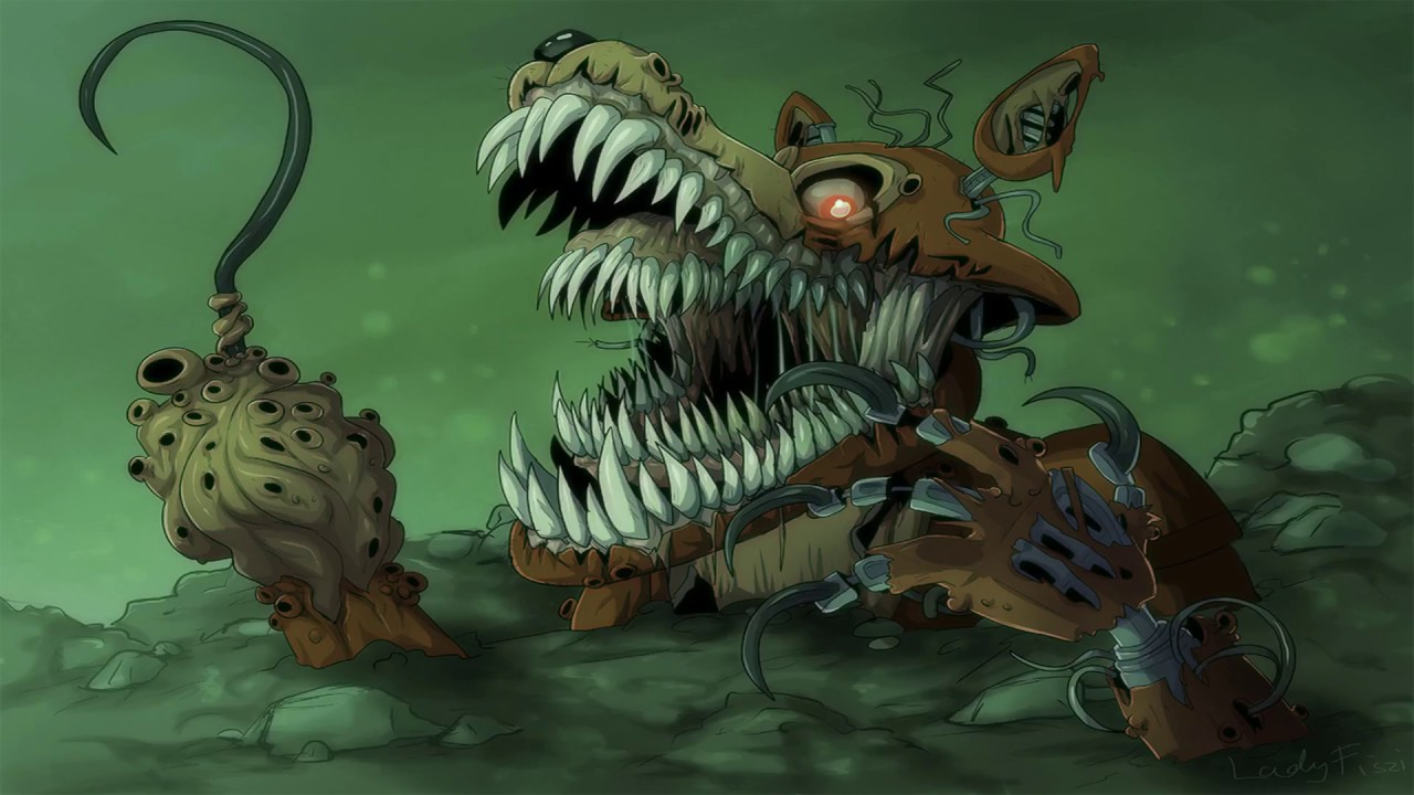FNaF The Twisted Ones Twisted Foxy Teaser - YouTube