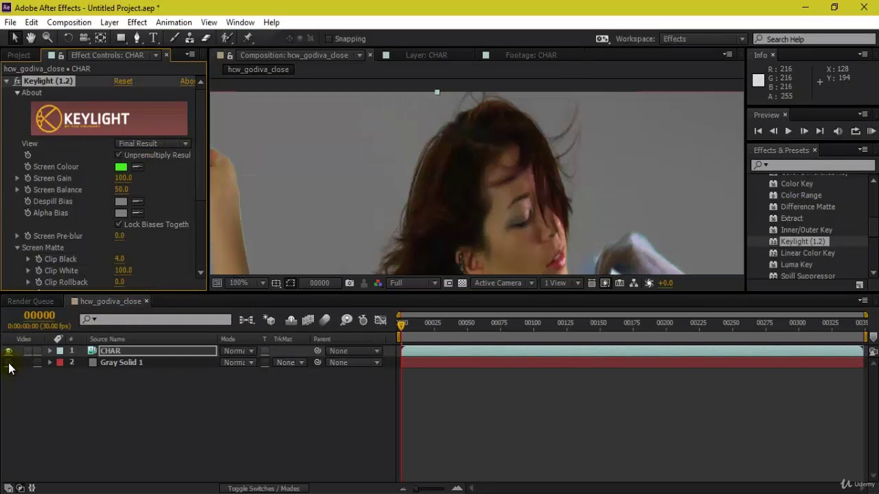 Compositing with Multi-channel OpenEXR Files in After Effects
