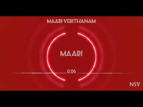 Maari Verithanam Theme | Maari BGM ..😎