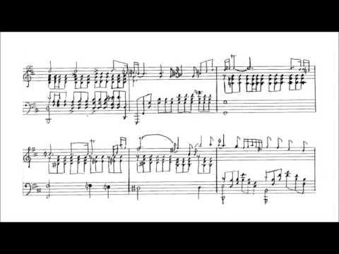 Friedrich Gulda - Aria (audio + sheet music)