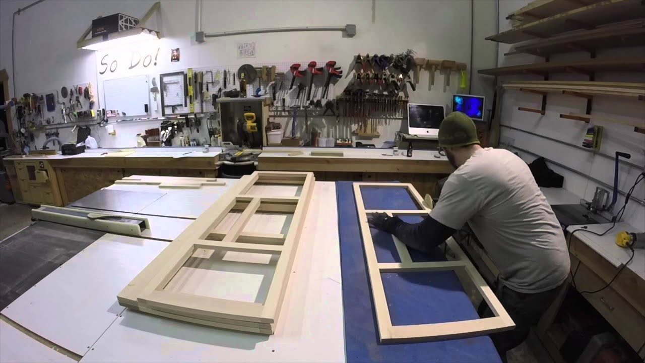 How We Build Our Cabinet Face Frames Youtube