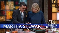 Martha Stewart And Stephen Grill Fish, Drink Sangria