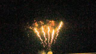 50 Shots 30mm Golden Chrysanthemum Silver Strobe Peonybc50f5 Display Fireworks Cake