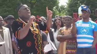 Southern Cameroon historic march to the White House in Washington DC