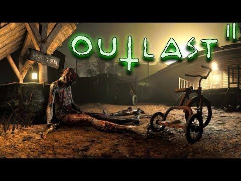 Дедушка Спас мне жизнь! Outlast 2 Прохождение игры Horror games #2