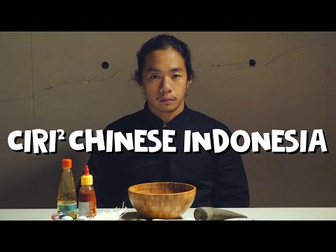 10 CIRI CHINESE INDONESIA