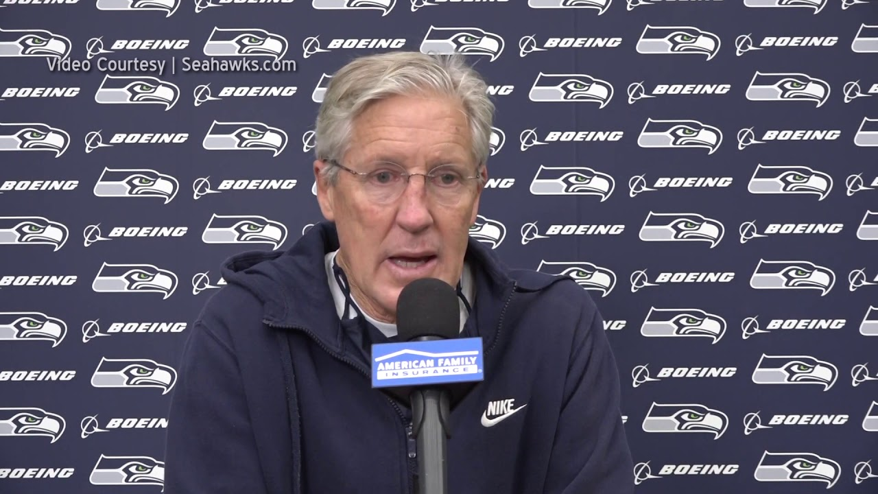 Pete Carroll on Carlos Dunlap 2020-11-05