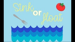 float for sink science experiments