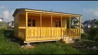 видео Описание каркасных домов 4х6 и 4х10 м