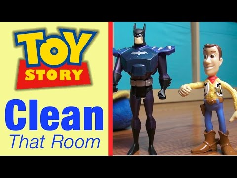Prank On Dad: Woody TOY STORY 4 Characters: Disney, Batman Toys, Superman, Toy Story Toys Parody