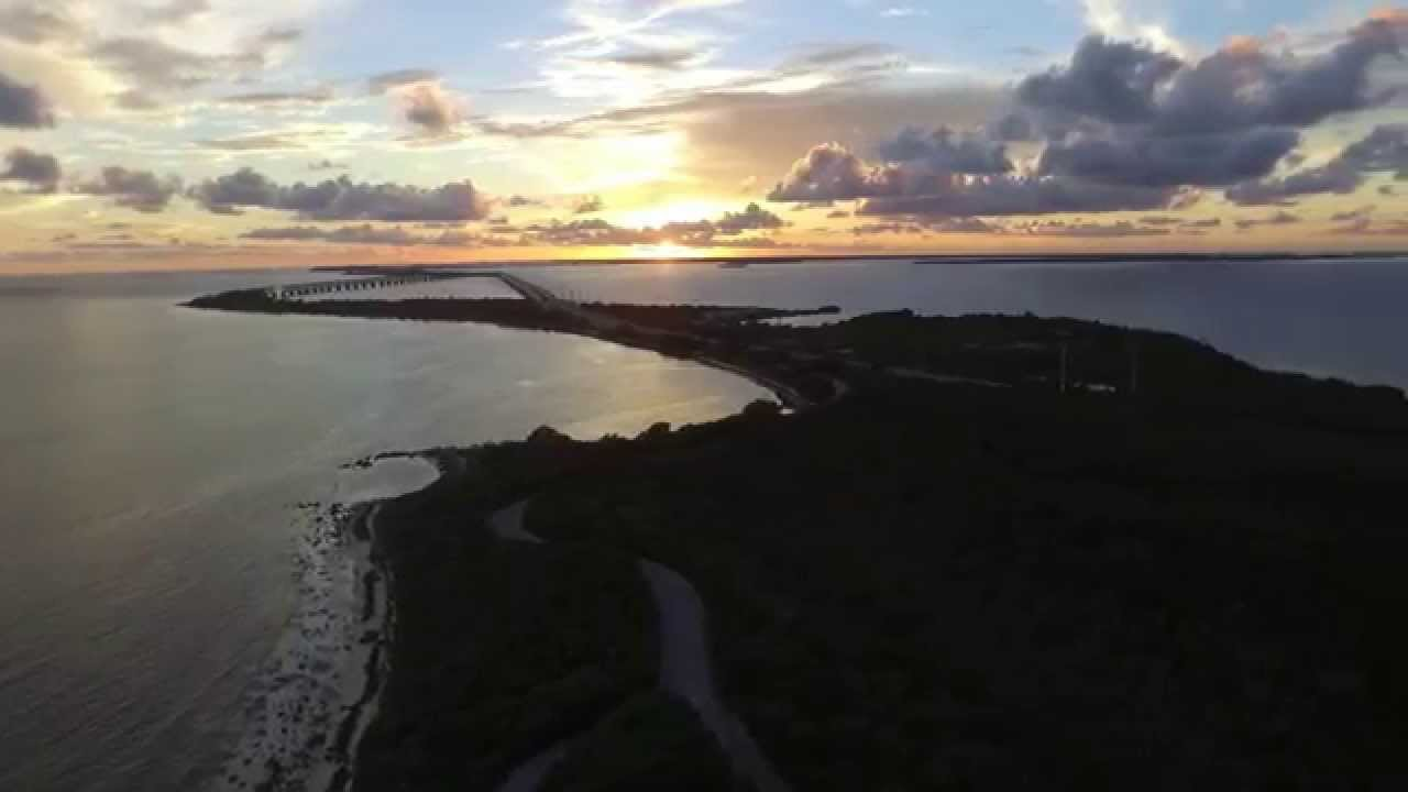 Sunset fishing at bahia honda state park youtube for Bahia honda fishing