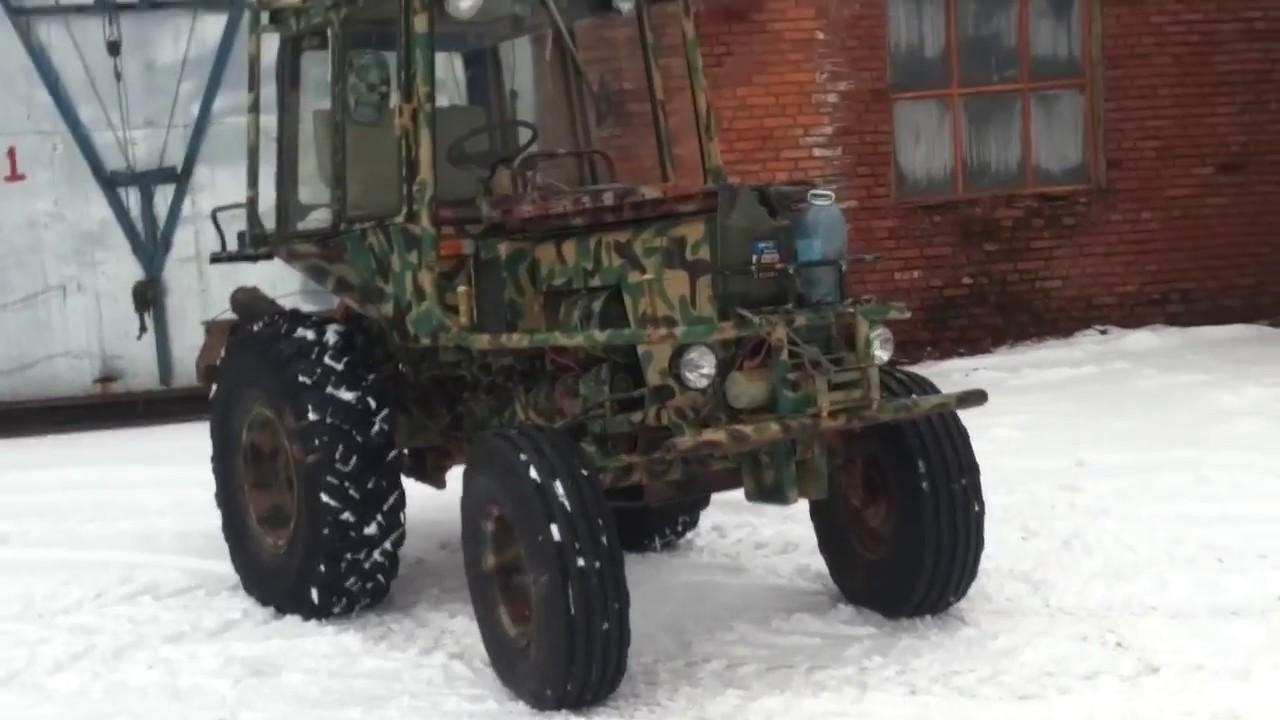 Тюнинг трактора т 25 своими руками