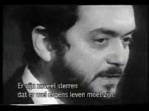 Stanley Kubrick on the possibility of extra-terrestial life