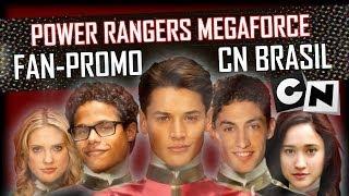Power Rangers MEGAFORCE | Chamada no Cartoon Network BR - Feito por Félix