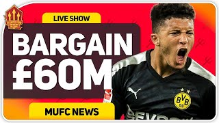 Sancho to United for 60 Million! Raul Jiminez Deal Close? Man Utd Transfer News