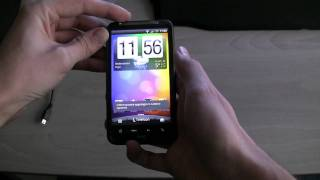 How to make screenshots with the HTC Desire HD