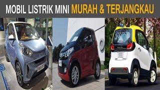 MURAH & TERJANGKAU!! Mobil Listrik Mini Buatan China Mulai Beredar di Jalanan
