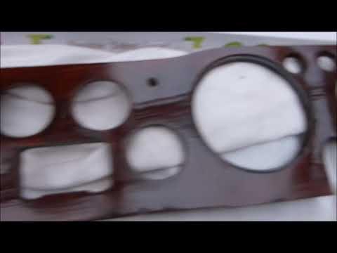 Refurbishing a veneer dashboard