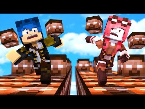 Minecraft ITA - LA CORSA DEI LUCKYBLOCK DI HEROBRINE!!