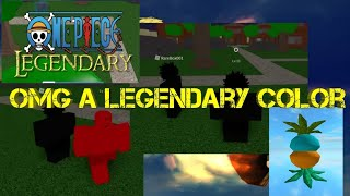 How to copy the legendary colors of others-One Piece Legendary-Roblox