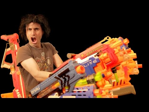 Thumbnail: Baddest NERF Loadout | Gun Vs Gun Arsenal
