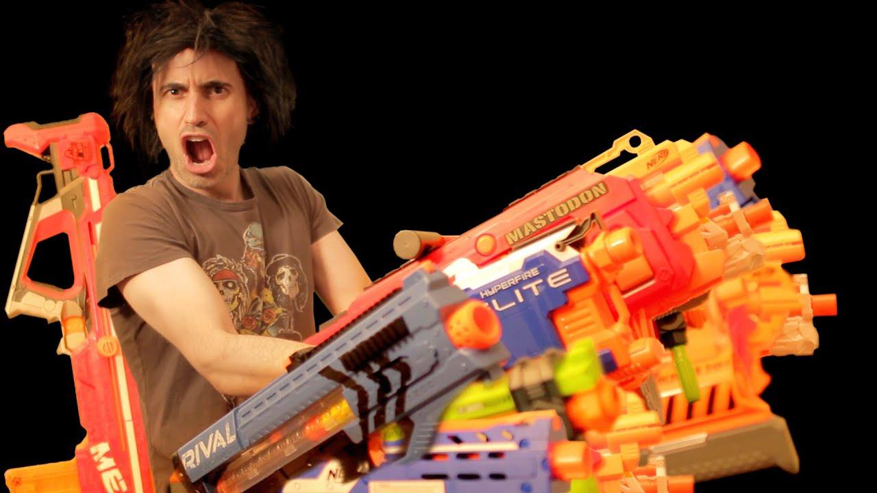 Baddest Nerf Loadout Gun Vs Gun Arsenal