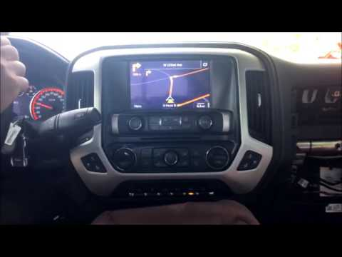2014 2015 Chevy Silverado and GMC Sierra Multimedia NAV Interface with HDMI / Samrtphone Mirroring