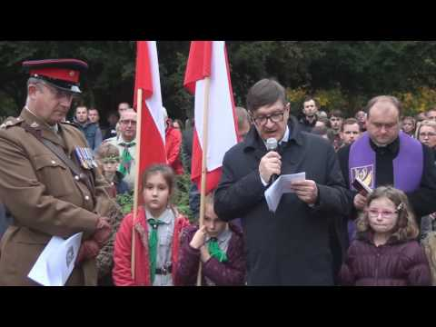 Polish War Memorial Newark Cemetery -  All Souls' Day - 30.10.2016