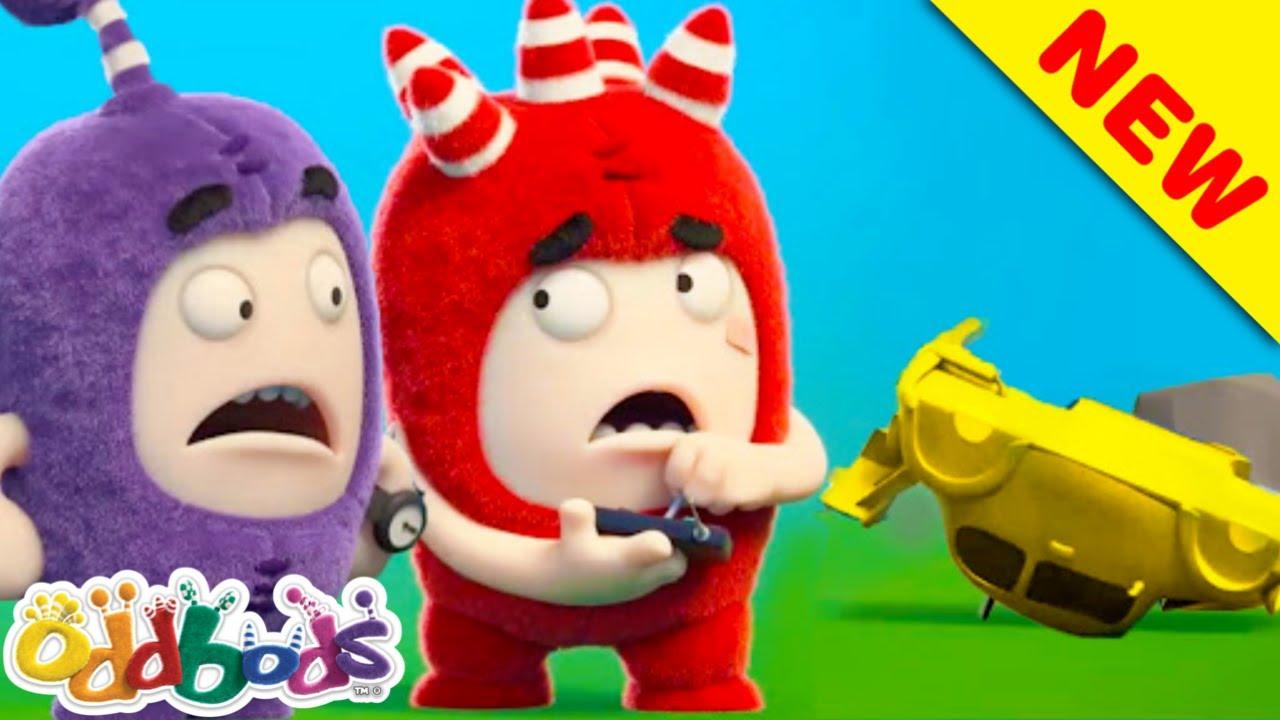 Cerita Mainan | Oddbods | BAHARU | Kartun Lucu Untuk Kanak