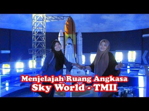 Menjelajah Ruang Angkasa Di Sky World Planetarium Taman Mini Indonesia Indah (TMII)