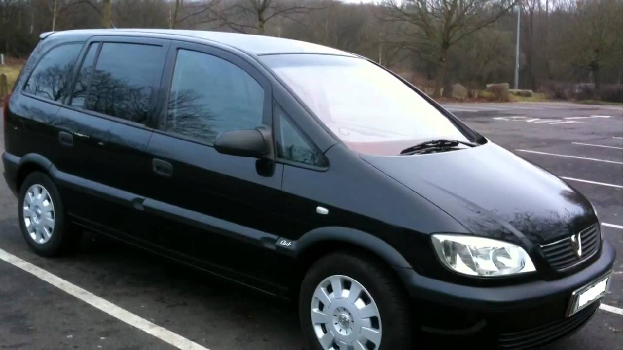 2002 vauxhall zafira 1 6 club youtube. Black Bedroom Furniture Sets. Home Design Ideas