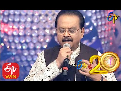 SP Balu Performs - Okkade Okkade Song in ETV @ 20 Years Celebrations - 23rd August 2015