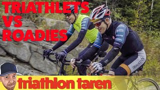 Triathletes vs Road Cyclists