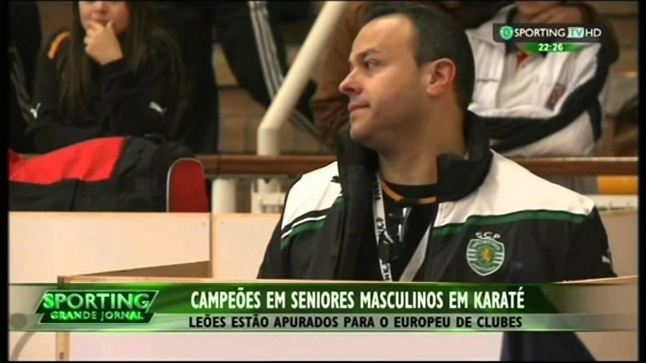 Karaté :: Sporting Campeão Nacional de Karaté em 18/04/2015