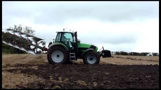Deutz Fahr TTV 620 and M650 Ploughing
