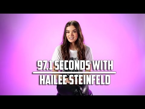 Hailee Steinfeld Talks 'Love Myself,' why she loves her fans: 97.1 Seconds With
