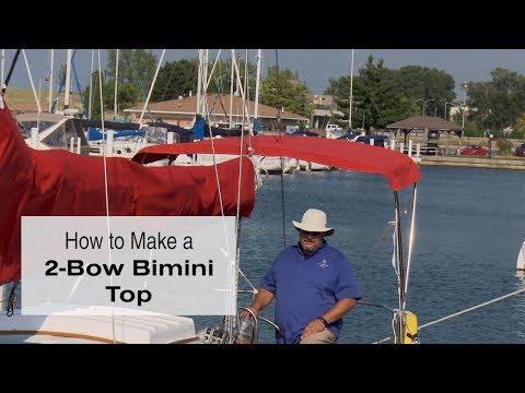 How to Make a 2-Bow Bimini Top