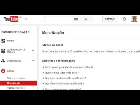 Como Monetizar o Seu Canal e Vídeos no YouTube e Fechar