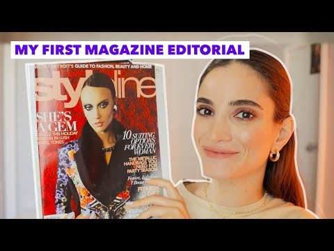 My First (and Only) Magazine Editorial + How I Took The Photos