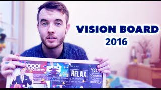 Vision board for 2016 - Inspirational quotes!