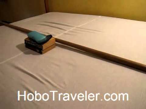 Travel Tip   Solution To A Sagging Mattress In Hotel Room   YouTube