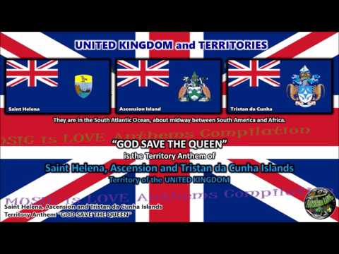 Saint Helena, Ascension and Tristan da Cunha Islands Territory Anthem GOD SAVE THE QUEEN
