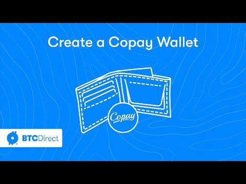 Create a Copay bitcoin wallet - BTC Direct