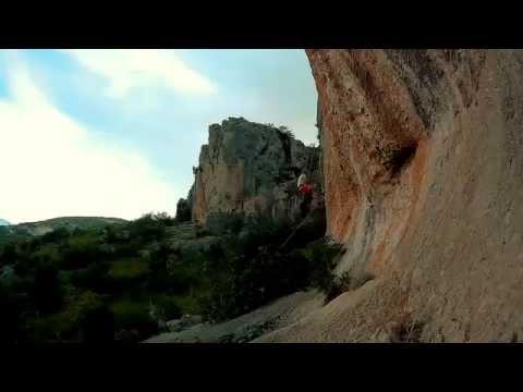 Croatia Climbing Trogir timelapse